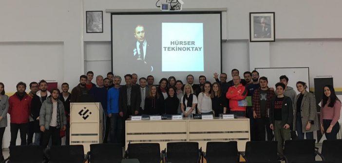 Beşiktaş Başkan Adayı Hürser Tekinoktay Eskişehir Teknik Üniversitesi'nde…