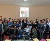 Hürser Tekinoktay ve ekibi Gazi Üniversitesinde öğrencilerle buluştu