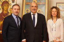 Hürser Tekinoktay ve Yunanistan Dışişleri Bakan Yardımcısı Markos Bolaris