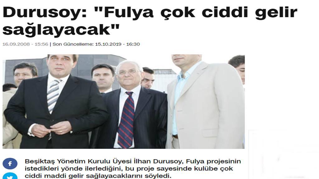 Fulya Projesi'nin Kahramanları! Yıldırım Demirören ve İlhan Durusoy