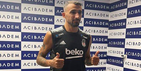 35 Yaşındaki Mehmet Topal Beşiktaş'ta